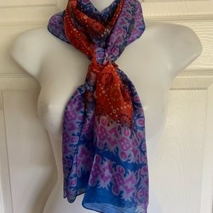Accessories - NWOT..hand woven 100% silk scarf